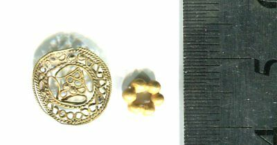 Central Asia .2 Charm -  Pendant . GOLD .