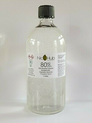 Vegetable Glycerine & Propylene Glycol Nic Base DIY Liquid Mixing VG PG