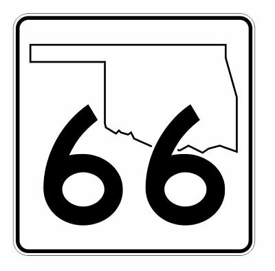 Utah State Highway 66 Sticker Decal R5402 Highway Route Sign
