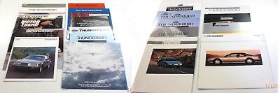 Thunderbird - A Collection Of 1980 Thru 1997 Ford Thunderbird Sales Brochures