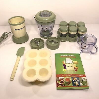 Magic Bullet Baby Bullet Food Making System A012