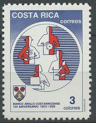Costa Rica 1988 Stamp Scott #403 - MNH | Banking