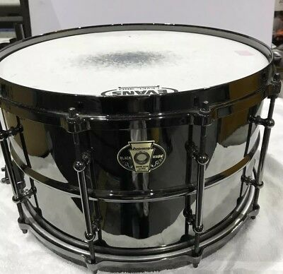 Ludwig 8x14 Black Magic Brass Snare Drum - LW0814