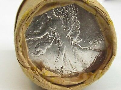 1943/? 1 ROLL Unsearched (20) Silver Walking Liberty Half Dollar $10.00 #WR256