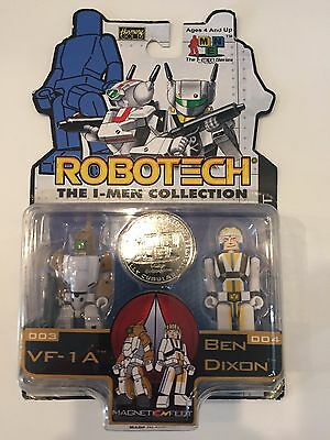 Robotech The I-Men Series VF-1A & Ben Dixon Toynami New!