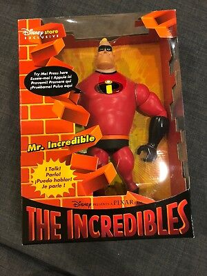 Disney Store Exclusive Mr Incredibles The Incredibles Talking Action Figure 2004