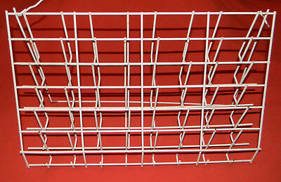White Wire Counter Brochure Display Rack Greeting Cards Post Cards