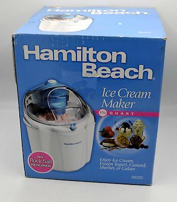 Hamilton Beach 1 1/2 Quart Ice Cream Maker - 68320 - New
