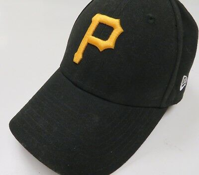 cede13ce650 PITTSBURGH PIRATES HAT Cap 9Forty New Era Black Adjustable -  7.99 ...