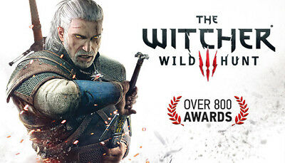The Witcher 3 Wild Hunt  Steam Game (PC) - EUROPE only -