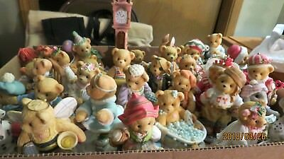 Cherished Teddies    Lot Of 38 Pieces @ One Price