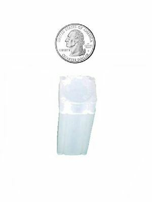 5 NUMIS Square Quarter 24.3mm Coin Tubes, Coin Storage