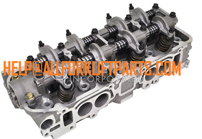 Complete Cylinder Head MITSUBISHI FORKLIFT ENGINE 4G64 CLARK CATERPILLAR NEW