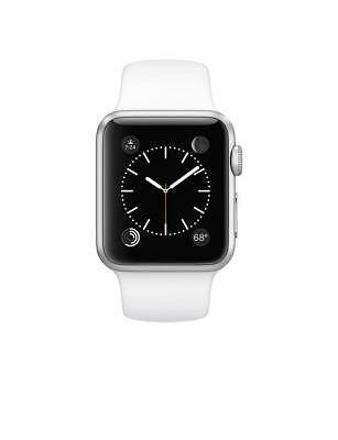 Apple Watch 7000 Series 38 mm Aluminum Case Sport with White Band