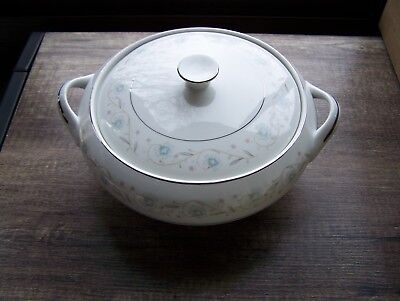 English Garden - #1221 - Fine China of Japan - Covered Handled Serving Dish