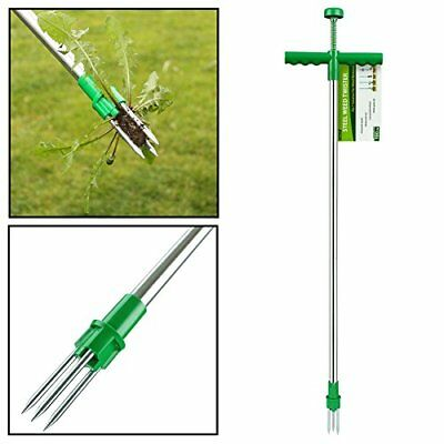 AMOS Weed Puller Weeder Twister Push Twist & Pull Claw Garden Lawn Easy ...