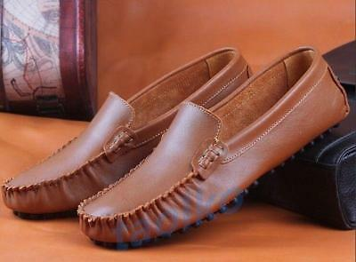 Men/'s Casual Slip On Loafers Moccasins Soft Flat Driving Boat Shoe Plus Size