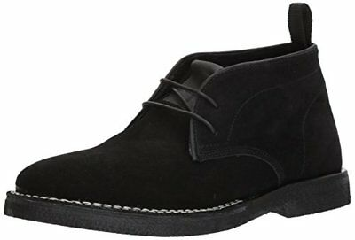 d0c64cd4ac NEW STEVE MADDEN Mens Hacksaw Chukka Boot Black Suede Leather Size ...