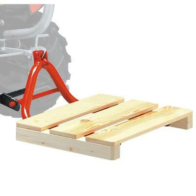 Powder Coated Durable 19-in x 10-in Pallet Fork for Full Size Pedal Go-Karts