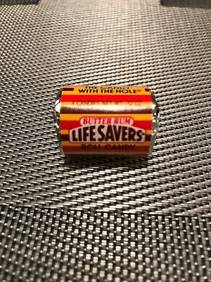Nabisco Mini lifesavers Vintage Candy Roll BUTTER RUM 80s .32 oz