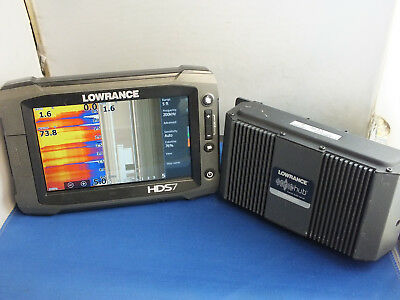 Lowrance HDS 7 Gen 2 Touch Touchscreen GPS Fish Finder with SonicHub