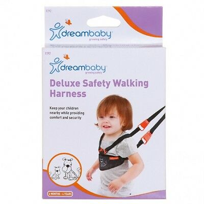 New Dreambaby Deluxe Safety Walking Harness & Reins Baby Safety Dream