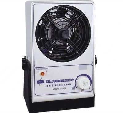 Electrostatic Elimination One Fan Ionizing Air Blower Antistatic Cleanroom 110V