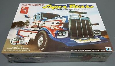 Kenworth Super Boss Drag Truck Amt 1/25 Scale Model Kit New In Box Re-Issue