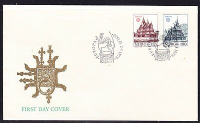 Norway 1978 Europa  First Day Cover Unaddressed