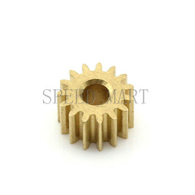 0.5M14T 2mm 3mm Bore Hole 14 Tooth Width 5mm Module 0.5 Motor Metal Spur Gear