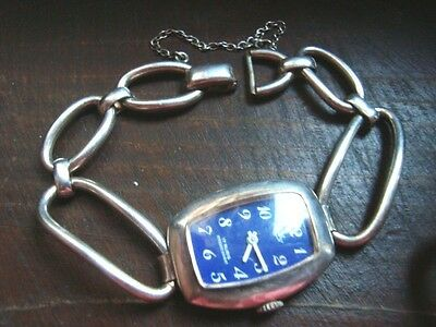 Antique sterling silver watch NIBO 34 grams
