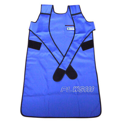 SanYi Flexible X-Ray Protection Protective Lead Apron FAA07 0.35mmpb Blue IN US