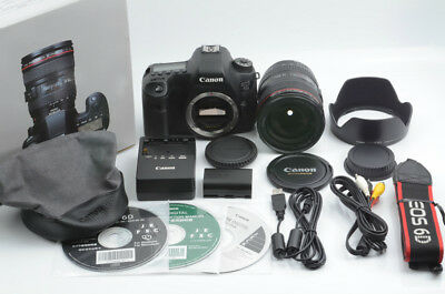 Canon EOS 6D 20.2MP DSLR Camera with EF 24-105mm f/4 L IS USM [Very good] 88-D36