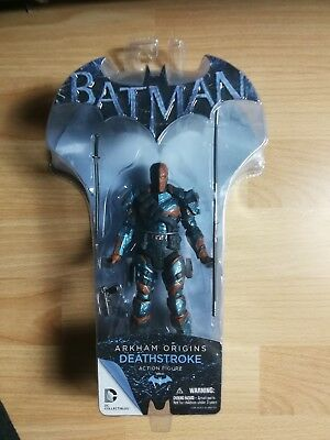 Deathstroke Arkham Origins DC Collectibles Series 2 neu OVP