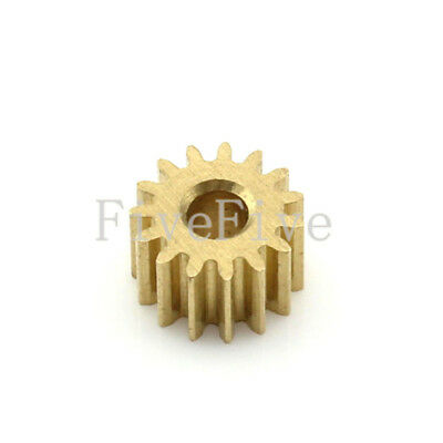 0.5M13T 2mm Bore Hole Width 5mm 13 Tooth Module 0.5 Motor  Metal Spur Gear