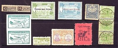 Old World * Local Mixed  Bob == 12 ==  Foreign  Used&mint Unsorted