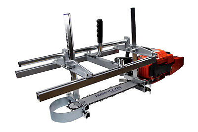 """Holzfforma Portable Chainsaw Mill Planking Milling Length 14""""-24"""" Inch Guide Bar"""