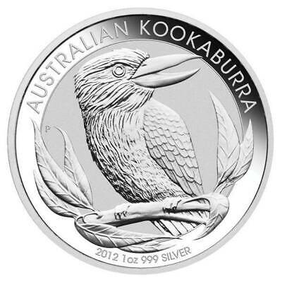 2012 Australian Kookaburra 1oz .999 Silver Bullion Coin - The Perth Mint