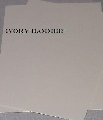 A4 Textured Paper 120gsm (Ivory/White Hammer-Linen)Ideal For Wedding Stationery