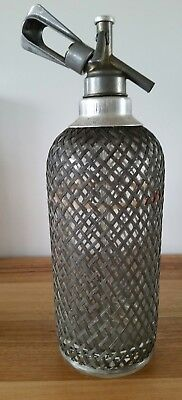 Vintage Soda Syphon Sparklets London Class C Bottle 169 Made in England