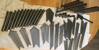 LOT OF EJECTOR PINS (179 NEW) MULTIPLE SIZES MESSAGE FOR LENGTHS. Value $1800