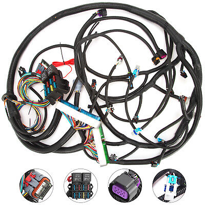 tpi wiring harness lsi wiring harness ls swap diy harness rework fuse block kit for ls ...