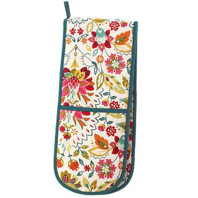 NEW Ulster Weavers Bountiful Floral Double Oven Glove