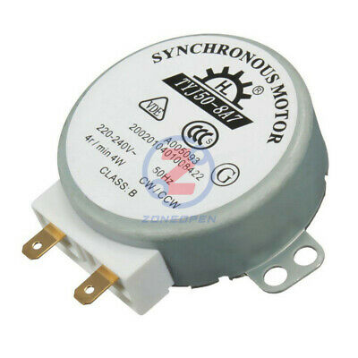 Mikrowelle AC220V-240V CW/CCW Magnetron Plattenspieler Synchronmotor TYJ50-8A7
