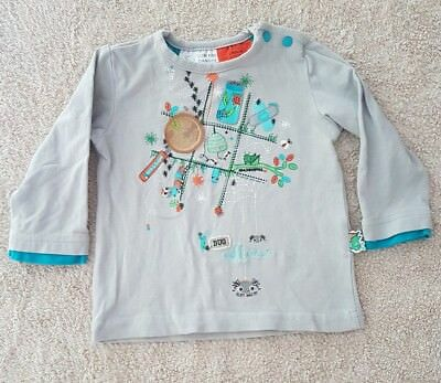Unisex Baby's Long-Sleeved Insect Shirt 00