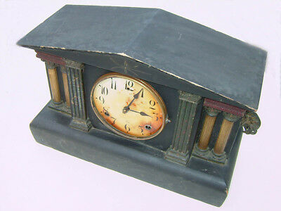 American Ting Tang Mantle clock by Gilbert of Conneticut for restoration/spares