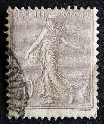 Stamp from FRANCE / FRENCH Stamp - Yvert and Tellier n°133 obl (Cyn21)