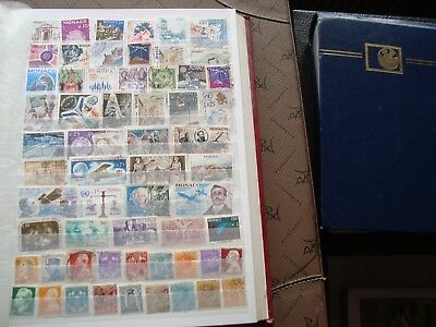 MONACO - 59 stamps canceled (all state) stamp