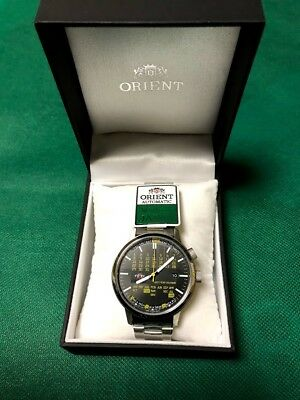 ORIENT Stylish & Smart Automatic Multi Year Calendar Watch WV0871ER Japan New