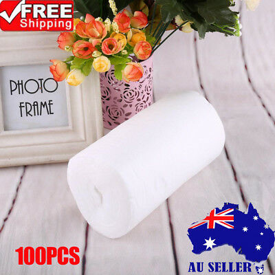 100PCS/Roll Disposable Cloth Baby Nappy Liner Covers Soft Diaper Pad Insert EB